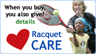 Buy more, give more, with Racquet Care
