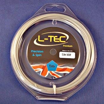 L-Tec Premium 5S silver polyester tennis string