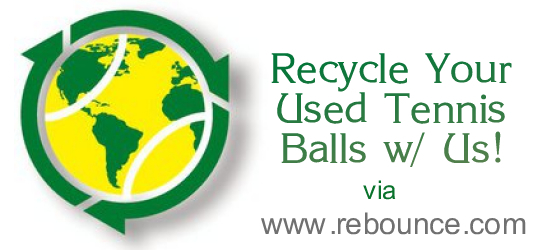 Tennis Ball Recycling