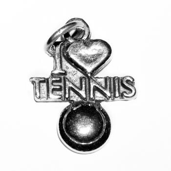 Image Charm - I Love Tennis