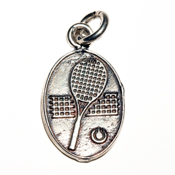 Image Charm - Racquet with Net and Ball