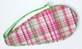 Image High Fashion Racquet Bag - Pink Party Plaid
