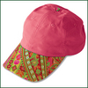 Image Cap - Pink Paisley