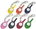 Image Trendy Colored and FUN Tennis Clip-On Clocks