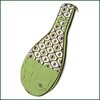 Image Orchid Groove Tennis Racquet Cover