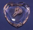 Image Optic Crystal Tennis Heart