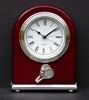 Image Executive Tennis Desk Clock/Alarm