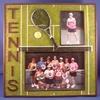 Image Tennis Dual Image Frame