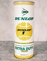 Image Vintage Dunlop Extra Duty Yellow Tennis Balls - Metal Can - 3 balls copy copy