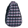 Pinkadilly Plaid tennis backpack