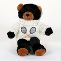 Image Stuffed Black Teddy Bear - Large